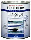 Rust-oleum Navy Blue 207002 Marine Topside Paint 1-quart 1 Quart