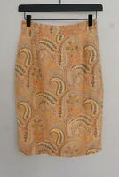 Women Etro Milano Skirt Viscose IT42 F38 US8 GB10 XMS102