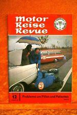 Motor + Fahrer Reise Revue 12/62 Ford Turnier Opel Caravan VW Variant