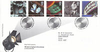 16 APRIL 1996 100 YEARS OF THE CINEMA RM FIRST DAY COVER BUREAU SHS (a)