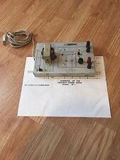 Heathkit VTVM Technical Application Series EF-1 AC/DC Power Supply Trainer 1OF2