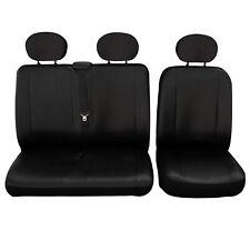 Toyota Auris 2007-2013 Maß Sitzbezüge Schonbezüge Kunstleder schwarz