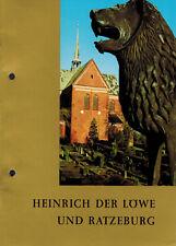 Steffen, Heinrich der Löwe ( Bayern-Herzog) und Ratzeburg, Damaschke Büchen 1980
