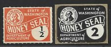 Washington State Department of Agriculture Honey Seals