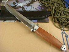 SHARP OUTDOOR UTILITY MILITARY COMBAT RESCUE BOWIE SURVIVAL HUNTING KNIFE
