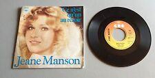 Ref 177 Vinyle 45 Tours Jeane Manson Ce N'est Qu'un Au Revoir