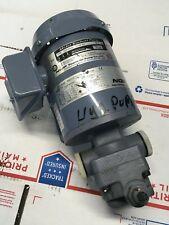 NIPPON OIL PUMP  25P400C-216EVB Motor Trochoid Pump 0.5MPa 3Ph
