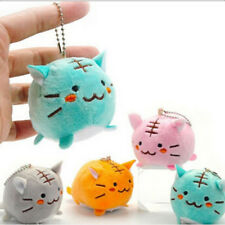 Keychain Gift Stuffed Pendant Kawaii Tiger Cat Doll Plush Toy 4Colors Choice