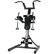 Tunturi Pure Power Tower Multi Gym Machine - Adjustable DIP Station & Sit up