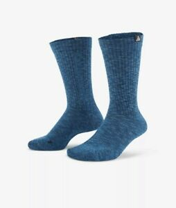 Nike Trail ACG Socks Kelley Ridge  unisex Men  8-12 Woman 10-13 Run Hiking Blue