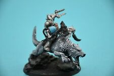 Warhammer 40k Space Wolves Iron Priest on Thunderwolf Lot3