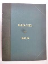 [ART NOUVEAU]. GOETSCHY (Gustave). Paris-Noël 1885-92. Relié.