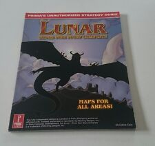 Lunar: Silver Star Story Complete Lösungsbuch Official Strategy Guide Englisch