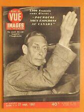 Point de Vue Images 173 du 27/9/1951-Santé du roi d'Anglettere-V.Mature/E.Lamarr