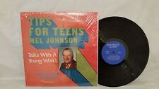 MEL JOHNSON - TIPS FOR TEENS - TALKS WITH A YOUNG WORLD - REVERENCE RECORDS