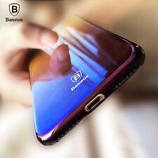 Baseus Originality Case For iPhone 7 luxury Aurora Gradient Black Color cases