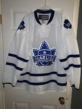 AUTHENTIC RARE 58+ TORONTO MARLIES REEBOOK AHL JERSEY TEAM ISSUED FIGHT STRAP