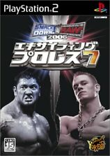 USED PS2 PlayStation2 Exciting Pro Wrestling 7 Smackdown! vs Raw 2006 00748JAPAN