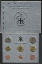 2003 Vaticano divisionale 8 monete FDC