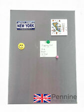 Magnetic Notice Boards, Memo Board - Stainless Steel Various Sizes Available DIY