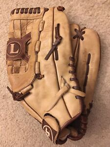"Louisville Slugger TPS TPS1400H 14"" Genuine Steerhide Leather Softball Glove"