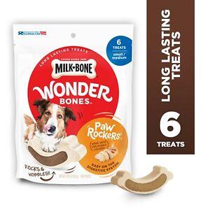 Milk-Bone Wonder Bones Paw Rockers with Real Chicken, Long Lasting Dog Treats