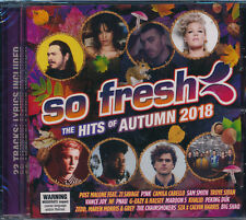 So Fresh The Hits Of Autumn 2018 CD NEW Pink Post Malone Sam Smith Vance Joy