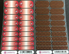 Jamberry Nail Wraps Lot - 2 Full Sheets, San Francisco 49er Football Nail Art