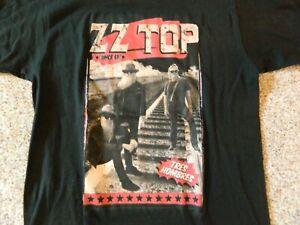 """Z Z Top """"Tres Hombres"""" mens Medium black T-Shirt"""