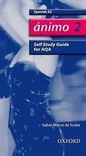Ánimo: 2: A2 AQA Self-Study Guide with CD-ROM (Animo), Good Condition Book, Alon