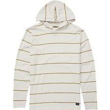 Billabong Die Cut Stripe Pullover Tan Hoodie Mens Large New