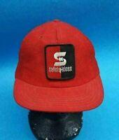 VINTAGE SAFETY-KLEEN SK RED& BLACK ADJUSTABLE SNAPBACK BALL CAP HAT MADE IN USA