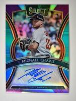 2020 Select Signatures Tri-Color Auto #S-MC Michael Chavis /49 - Boston Red Sox