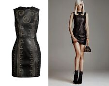 Versace for H&M Leather Dress UK 10 (EU 36, US 6) Very Hard to Find New Tags