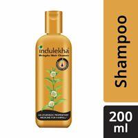 Indulekha Bringha Ayurvedic Anti Hair Fall Shampoo Prevents Hair Fall - 200ml