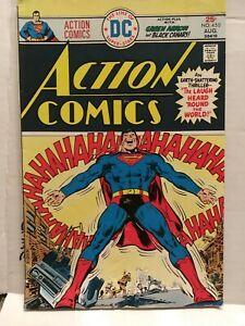 Superman Action Comics #450  DC Comic Book, 1975 - Vintage