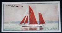 CARIAD   Ketch Rigged Cutter   Sail Cruising Yacht   Origina1930's Vintage Card