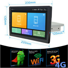 """9"""" Android 8.1 Single 1Din Car Stereo Radio GPS Wifi DAB OBD2 Mirror Link Player"""