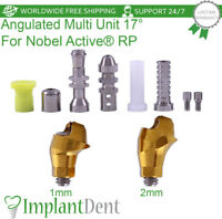 Angulated Multi Unit Abutment 17° Kit For Nobel Biocare, Active Hex RP Dental