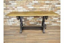 Handmade Cast Iron Industrial Kitchen & Dining Tables