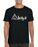 Always Harry Potter T-Shirt, Hogwarts Deathly Hallows Hermione Unisex Adults Top