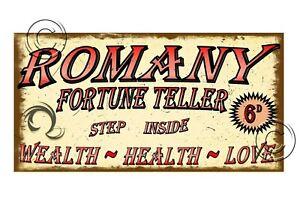 Fortune Teller Carnival Vintage Style Sign Sideshow Sign Vintage Fairground Sign