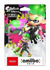 Nintendo 3DS Amiibo Boy Neon Green Splatoon Japan