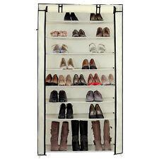 Songmics XXL Armoire / Étagères À Chaussures 10 couches avec Housse de couleur C