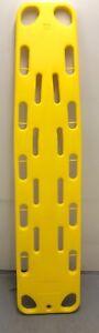 TM-J3 Spineboard + Gurte gelb schwimmfähig Rettungsbrett Wirbelsäulenbrett