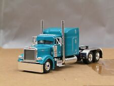 "Dcp teal/purple Peterbilt 379 63""standup sleeper tractor new no box"