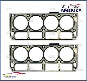 (2) NEW SET MLS Cylinder Multi-Layer Head Gaskets LS2 for Chevrolet GMC 12589227