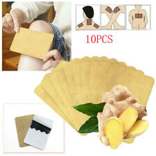 10Pcs Ginger Detox Patch Body Neck Knee Pad Pain Relief  Ginger Adhesive Pads.