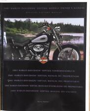 2001 Harley-Davidson Softail Owner's Manual Used Book Motorcycle