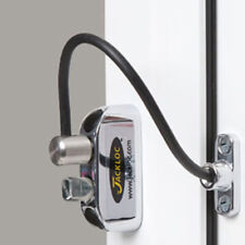 Jackloc Window Restrictor Push & Turn Chrome (JACK-PT-CH)